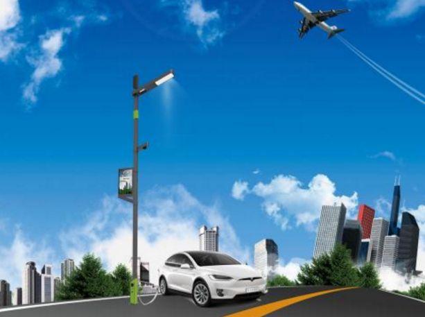 数知科技400根智慧路灯落户雄安新区  为雄安智慧城市建设打下基础高碑店